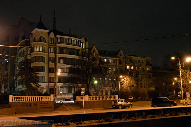 Ночной Ростов