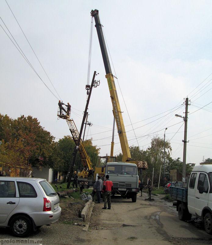 отключение света в Ростове