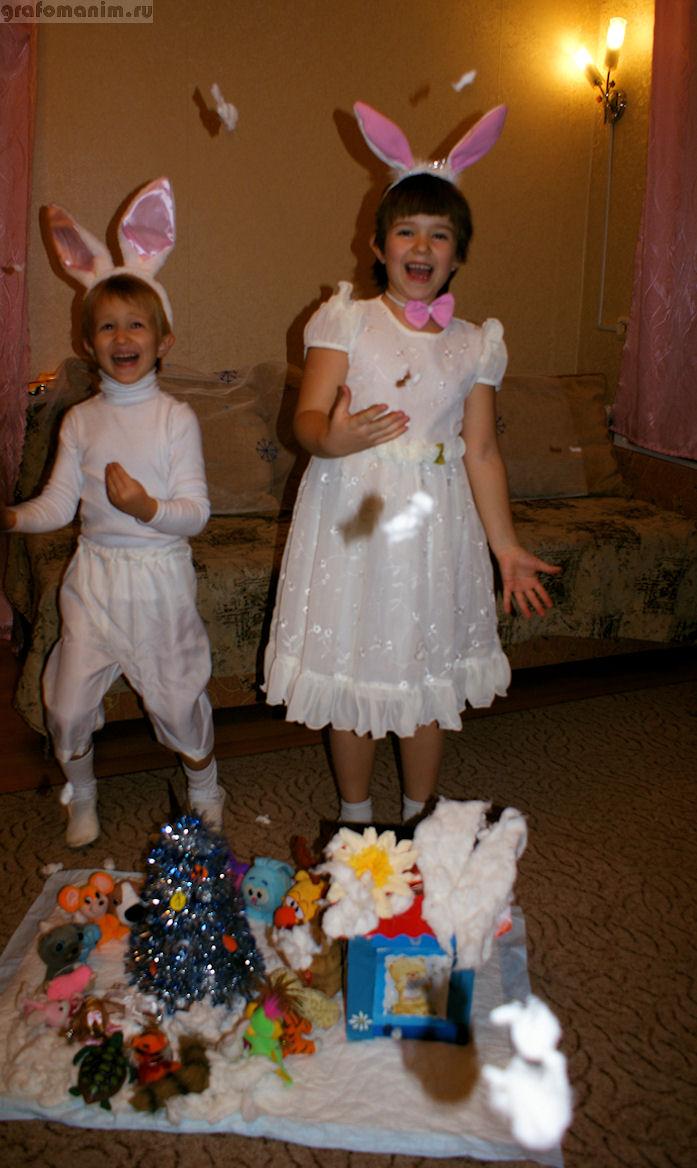 Снежные зайцы