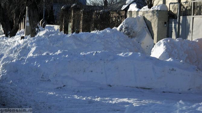 Ростов в снегу