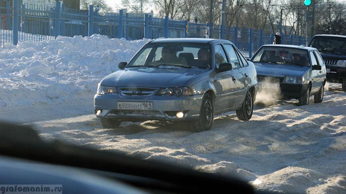 Ледяные дороги Ростова
