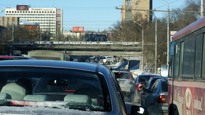 Пробки в Ростове