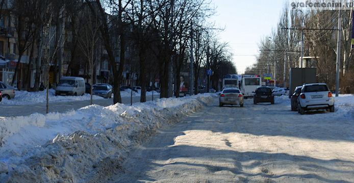 Снегопад в Ростове