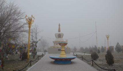 Ёжик в тумане, или Прогулки по Калмыкии