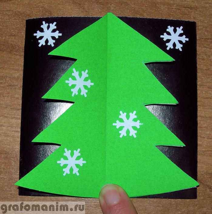 Новогодние открытки ёлочки