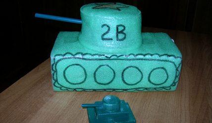 Поделка танк на 23 февраля