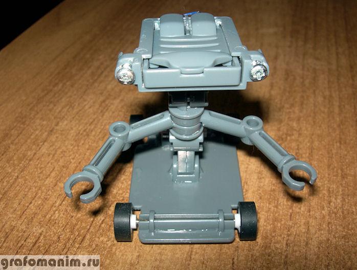 Детский конструктор Солевой электроробот