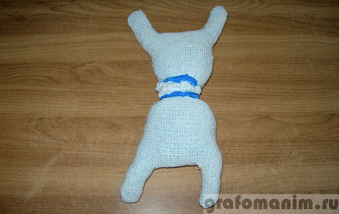 Зайцы из перчаток